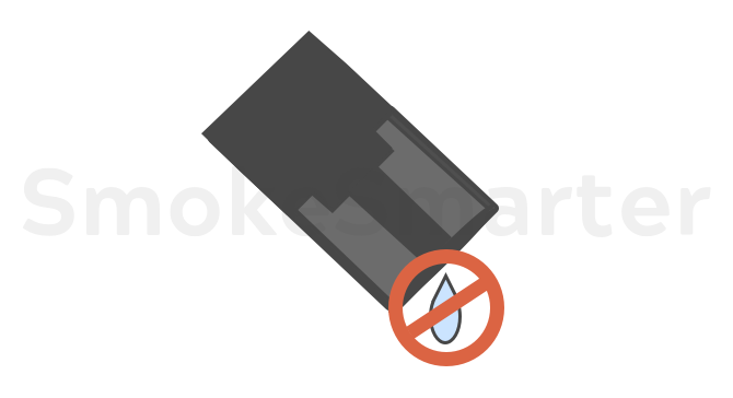 Pods sind auslaufsicher - Pod E-Zigarette Blog bei SmokeSmarter