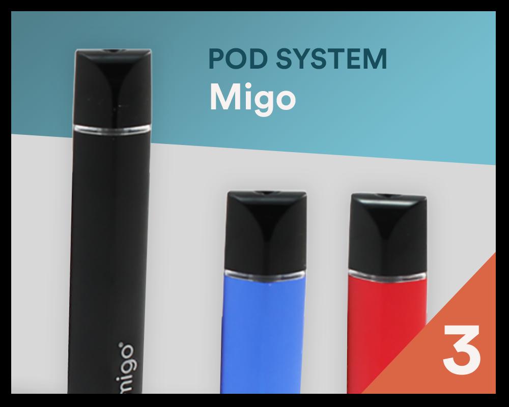 Bester Pod-System 2020: Migo - Bei SmokeSmarter