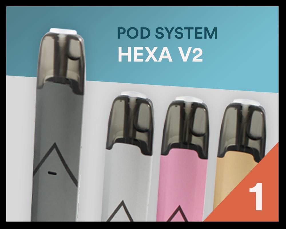 Bester Pod-System 2020: HEXA V2 - Bei SmokeSmarter