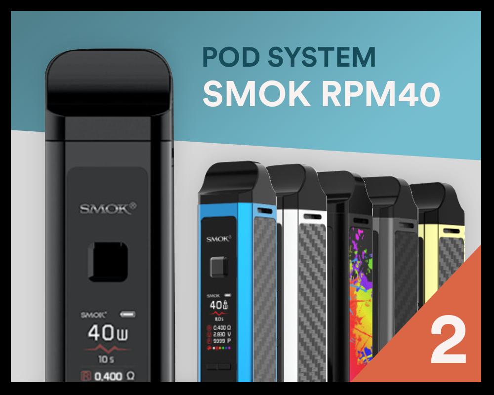 Bester Pod-System 2020: SMOK RPM40 - Bei SmokeSmarter