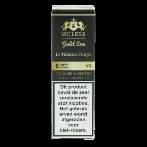 El Tabaco Fuego 100% VG - Millers Juice
