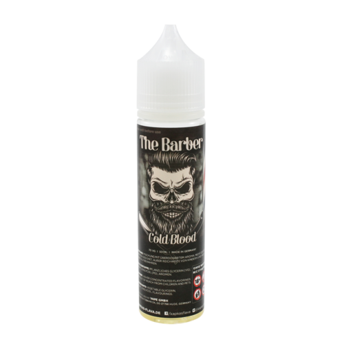 Cold Blood - The Barber (Shortfill) (Shake & Vape 50ml)