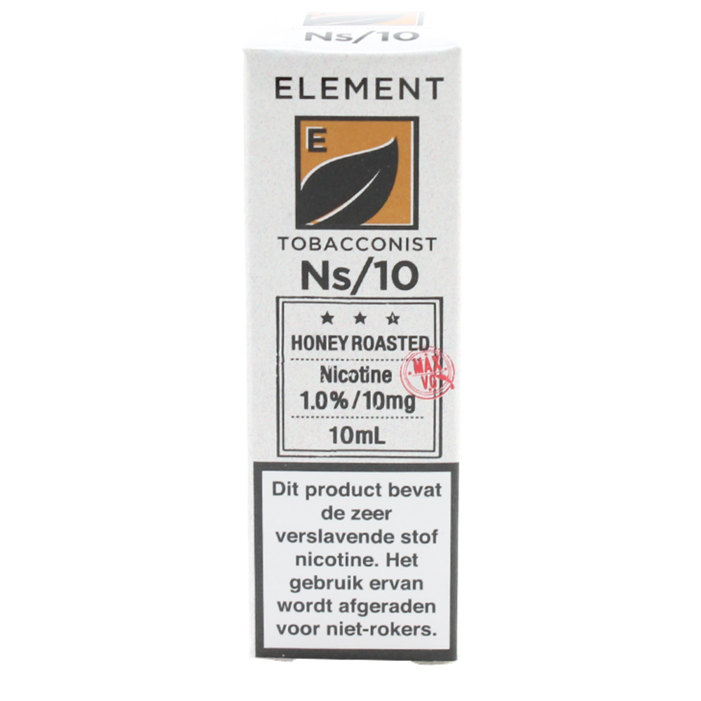Honey Roasted Tobacco (Nic Salt) - Element e-Liquids