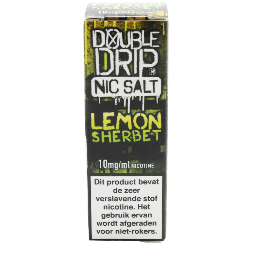 Lemon Sherbet (Nic Salt) - Double Drip