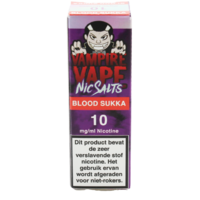 Blood Sukka (Nic Salt) - Vampire Vape