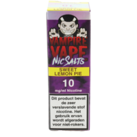 Sweet Lemon Pie (Nic Salt) - Vampire Vape