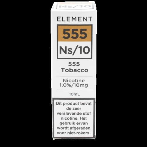555 Tobacco (Nic Salt) - Element e-Liquids
