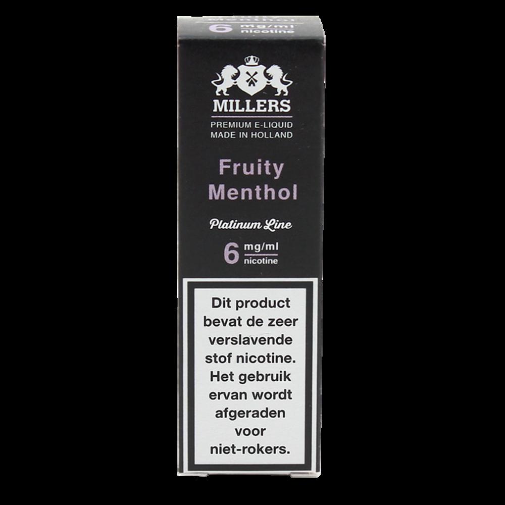 Fruity Menthol - Millers Juice