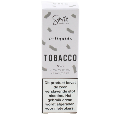 Tobacco - Simple Essentials