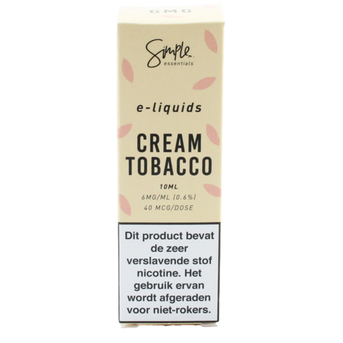 Cream Tobacco - Simple Essentials