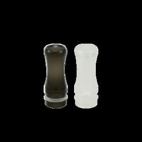 Kunststof transparant driptip / mondstuk