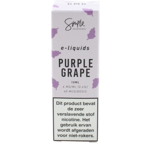 Purple Grape - Simple Essentials